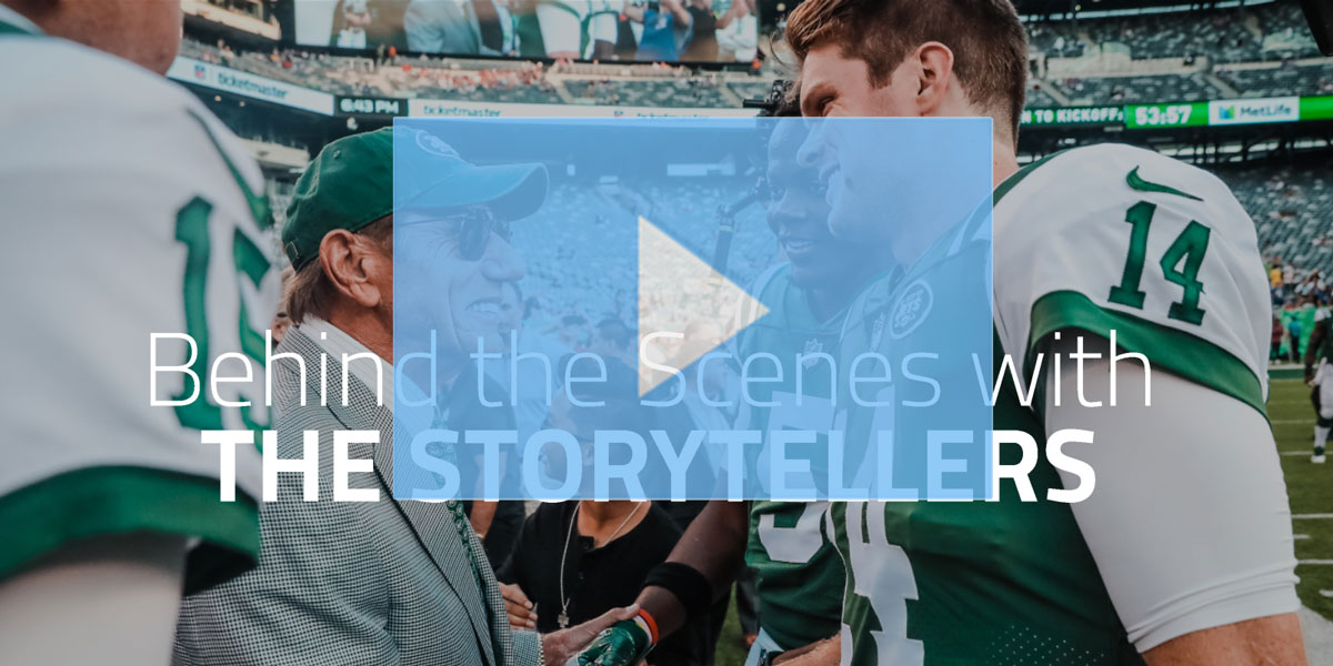 How the New York Jets Engage Fans with Real-Time, Thumb-Stopping Photography