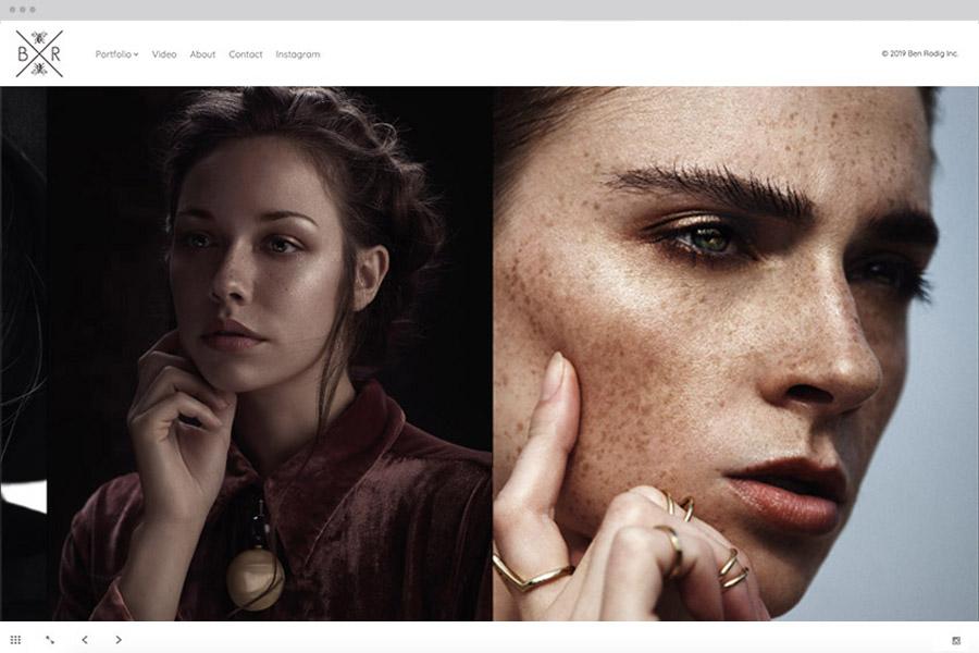 Horizon portfolio website