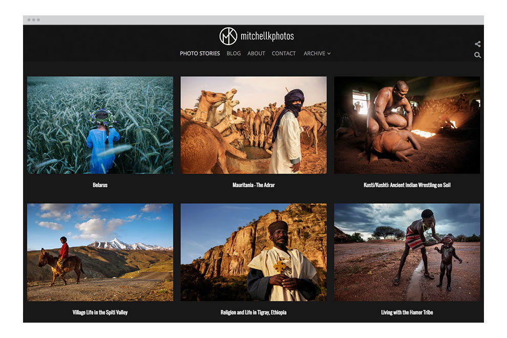 Photoshelter photography websites tools for New website create free online