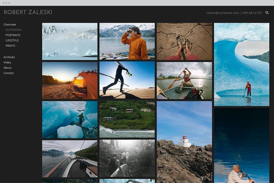 Photography Portfolio Templates PhotoShelter - Photoshelter templates