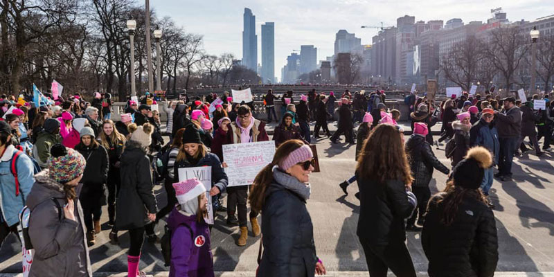How Women's March Chicago Went Viral and Made History